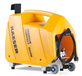 Компрессор для создания давления в закачных огнетушителях KAESER Premium compact 160/4