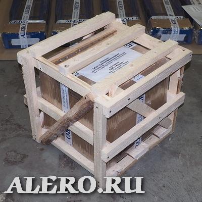 АЛЕРО: упаковка продукции в деревянную обрешетку